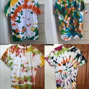 tshirts size medium and large